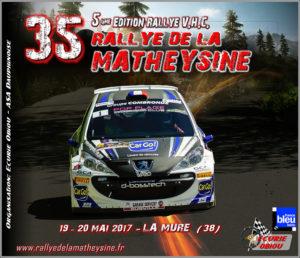 Rallye Matheysine 2017