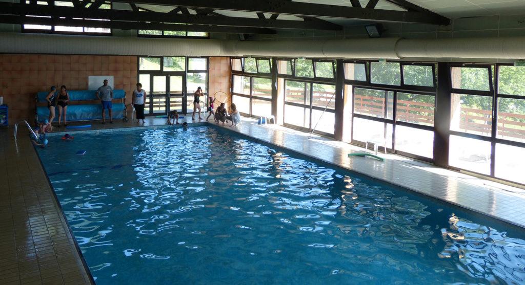La piscine couverte et chauffée des Aveilles