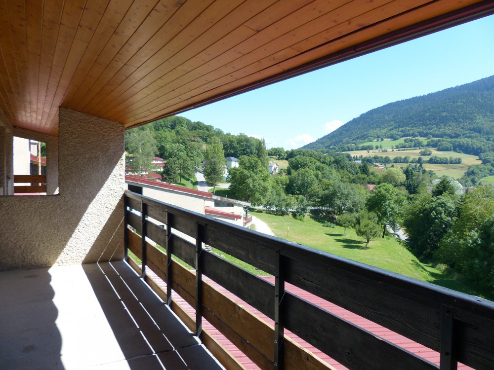Le balcon des chambres