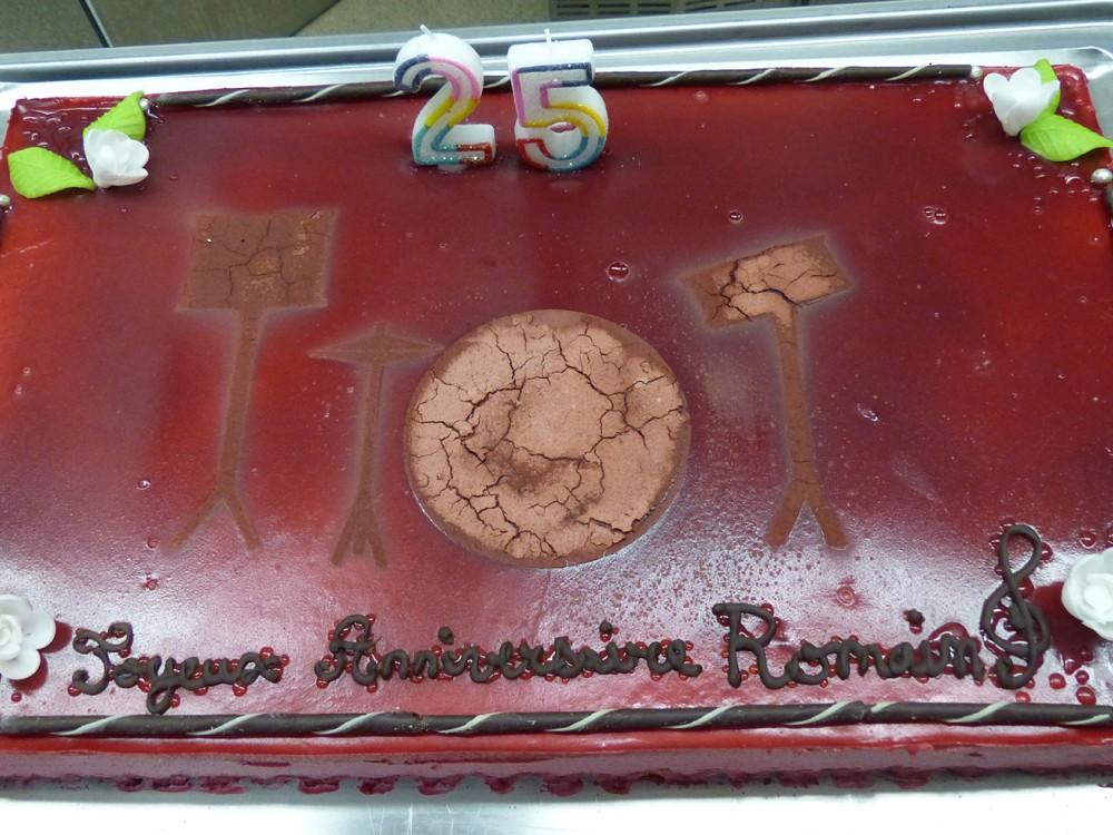 Gâteau pour un anniversaire